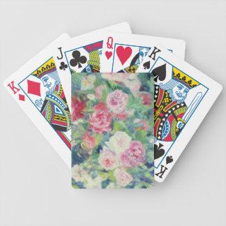 Pierre ein Renoir   Rosen 2 Bicycle Spielkarten