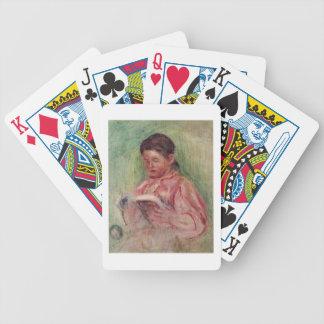 Pierre eine Renoir | Frauen-Lesung Bicycle Spielkarten