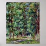 Pierre un chemin de Renoir | dans un bois