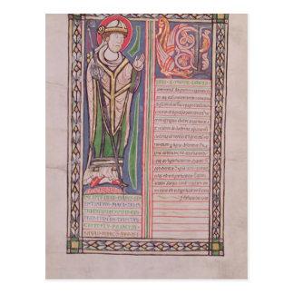 Pierrelombard-Bischof von Paris Postkarte