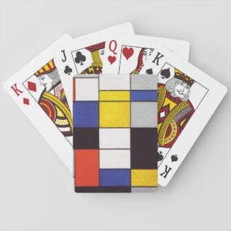 PIET MONDRIAAN - Compositon A 1923 Spielkarten