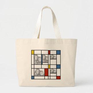 Piet Mondrian a inspiré le sac de modèle photo