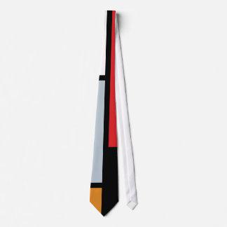 Piet Mondrian - Zusammensetzung mit großem rotem Krawatten
