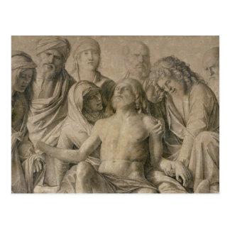 Pieta, der tote Christus Postkarte
