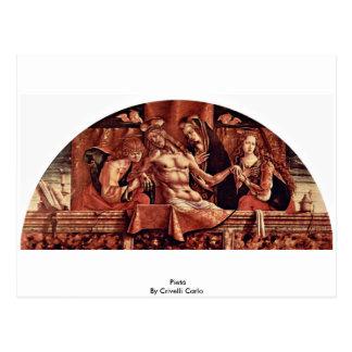 Pietà durch Crivelli Carlo Postkarte