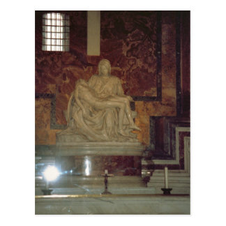 Pieta durch Michelangelo in St Peter Postkarte
