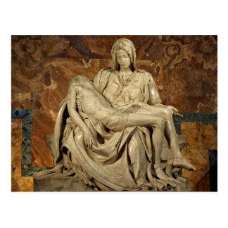 Pieta durch Michelangelo Postkarte