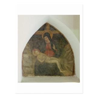 Pieta (Fresko) Postkarte