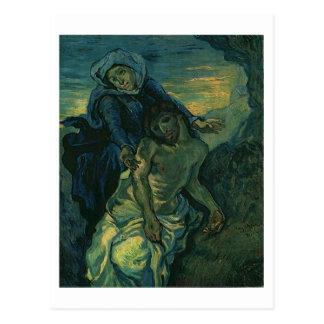Pietà (nach Delacroix), Van- Goghschöne Kunst Postkarte