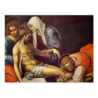 Pieta Postkarte
