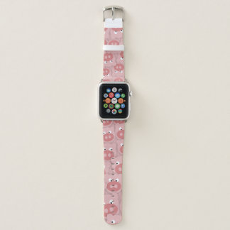 Piggy Gesichter Apple Watch Armband