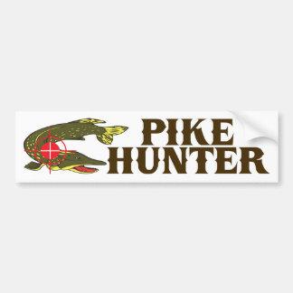 Pike-Jäger Auto Sticker