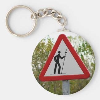 Pilger-Zeichen Keychain Schlüsselanhänger