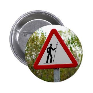 Pilger-Zeichen-Knopf Runder Button 5,1 Cm