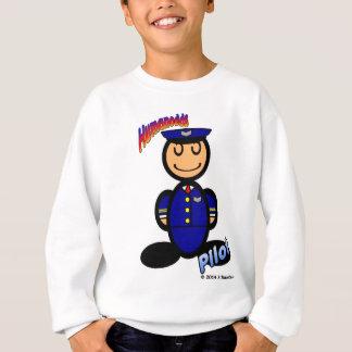 Pilot (mit Logos) Sweatshirt