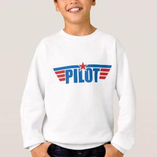 Pilot Wings Abzeichen - Luftfahrt Sweatshirt