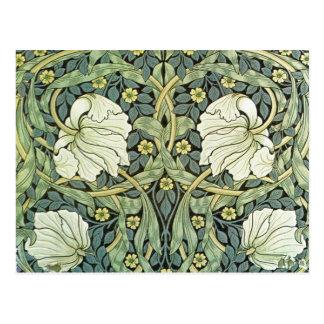 Pimpernel durch William Morris Postkarte