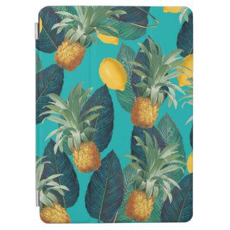 pineaple und Zitronen aquamarin iPad Air Hülle