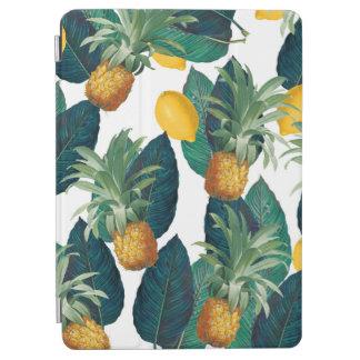 pineaple und Zitronenweiß iPad Air Hülle