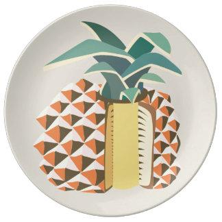 Pineapple fruit illustration teller