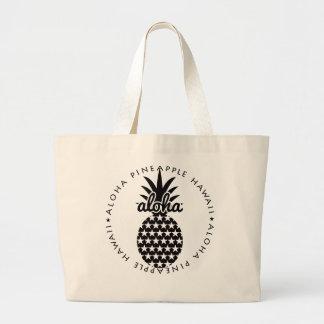 pineapple(star)★049 jumbo stoffbeutel