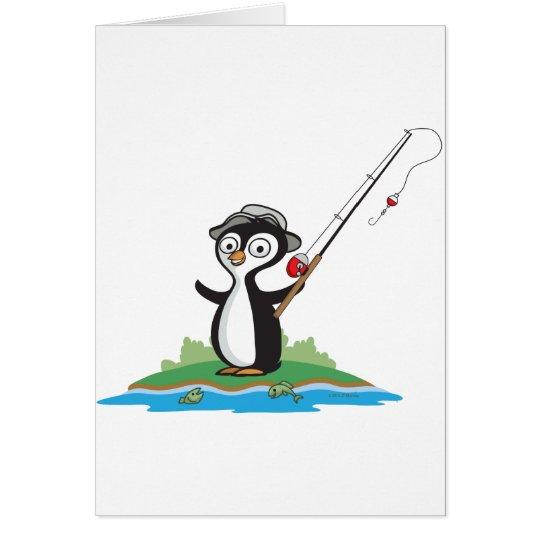 Pinguin-Fischen Karte