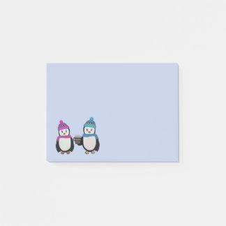 Pinguin-Freunde Post-it Klebezettel