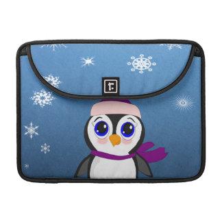 Pinguin mit Hut Sleeve Für MacBook Pro