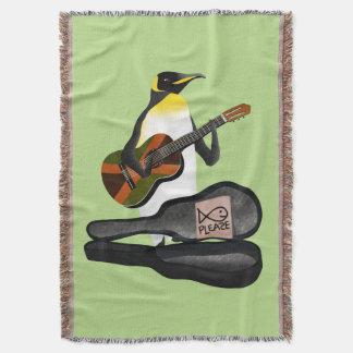 Pinguin-Reggae-Gitarre Decke
