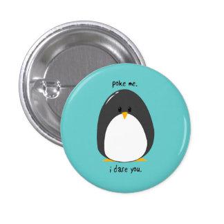Pinguin Runder Button 2,5 Cm