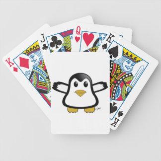 Pinguin-Spielkarten Pokerkarten