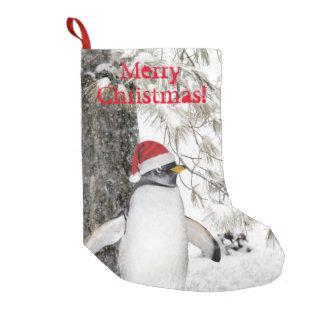 Pinguin-Weihnachten Kleiner Weihnachtsstrumpf
