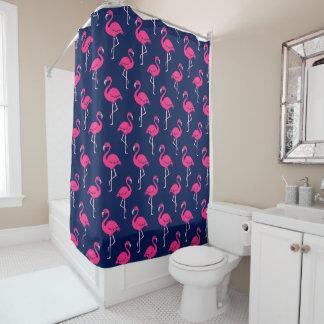 Pink-Flamingo-Muster Duschvorhang