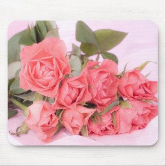 pink flowers tapis de souris