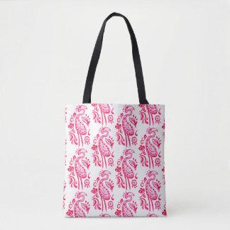 Pink-Paisley-Flamingo Tasche