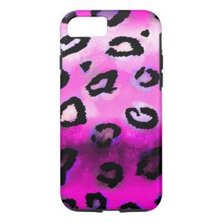 Pink-Schmutz-Leopard iPhone 7 Hülle
