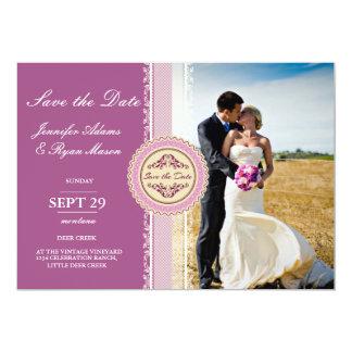 /pink-Thema 12,7 X 17,8 Cm Einladungskarte