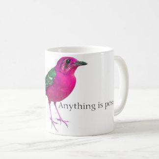 PinkBirdz klassische Café-Tasse Tasse