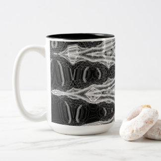 Pinnacle I zwei Ton-Tasse durch Künstler C.L. Zweifarbige Tasse