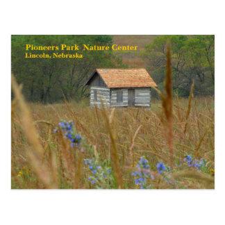 Pioniere parken Natur MittelLincoln, Ne #8n Postkarte