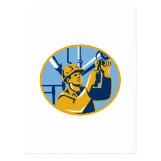 Pipefitter Wartungs-Gas-Arbeitskraft-Klempner Postkarten