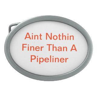 Pipeliners Ovale Gürtelschnallen