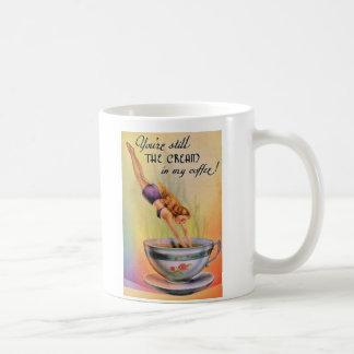 PIQUÉ DE CAFÉ MUG BLANC