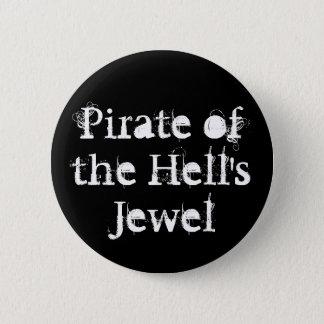 Pirat des das Juwel-Knopfes der Hölle Runder Button 5,1 Cm
