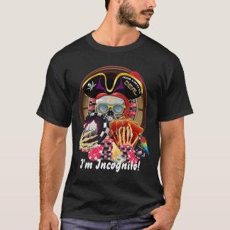 Pirat inkognito WICHTIGES gelesen über Entwurf T-Shirt