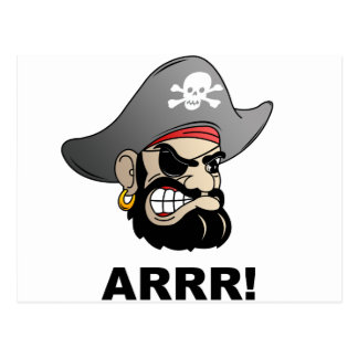 Pirat Postkarte