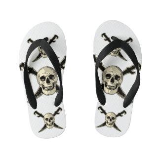 Pirate (crâne) - bascules électroniques faites sur