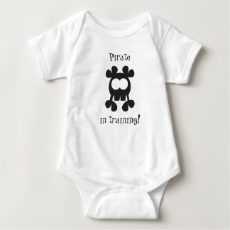 Piraten-Baby wachsen kundengerecht Baby Strampler
