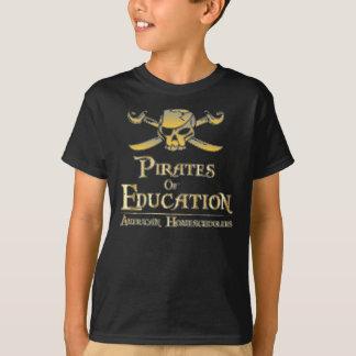 Piraten der Bildung T-Shirt