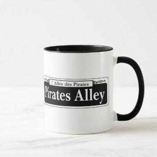 Piraten-Gasse, New- OrleansStraßenschild Tasse